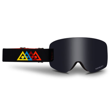 2021 Ashbury Sonic Snow Goggle Fade Frame with a Dark Smoke Lens and Yellow Spare Lens