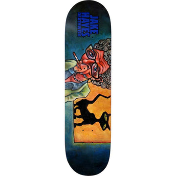 Deathwish Jake Hayes Cat Lady Skate Deck in 8.25