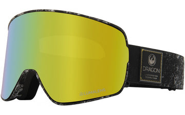 2020 Dragon NFX2 Snow Goggles in Lunar with LL Gold Ion and Amber Lens