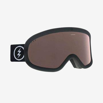 2021 Electric Charger XL Snow Goggle with a Matte Black Frame and a Light Green Lens and a Jet Black Spare Lens