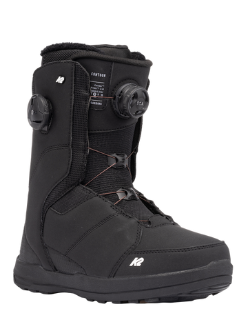 2022 K2 Contour Womens Snowboard Boot in Black