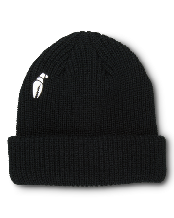 2021 Crab Grab High Mark Beanie in Black