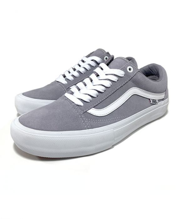 Vans Old Skool Pro in Lilac Gray and True White