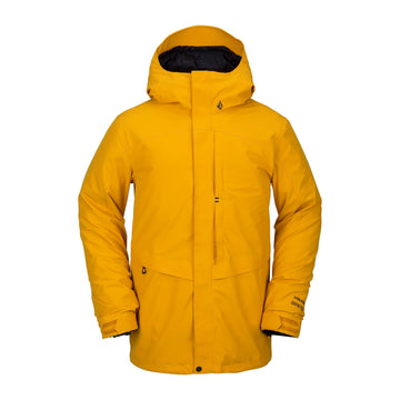 2021 Volcom TDS 2L Gore-Tex Jacket in Resin Gold