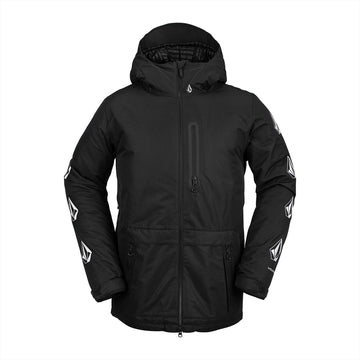 2021 Volcom Deadlystones Insulated Jacket in Black Military