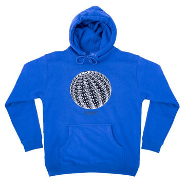 Public Globe Hooded Sweatshirt in Blue