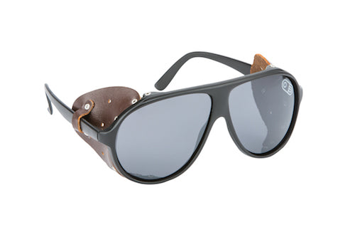 2021 Airblaster Polarized Glacier Glasses in Gloss Black