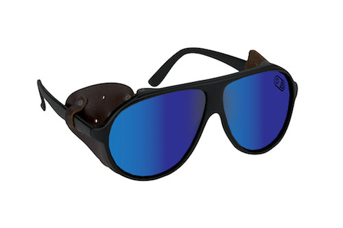 2021 Airblaster Polarized Glacier Glasses in Matte Black