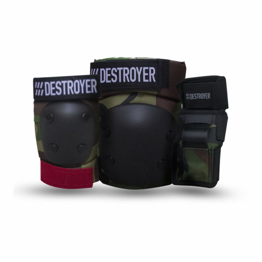 Destroyer G Series Grom (little kids) 3 Pack Skate Pads