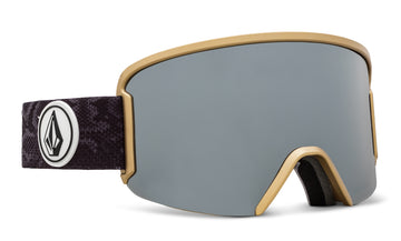 2021 Electric Volcom Garden Snow Goggle in Slither Frames with a Bronze Chrome Lens