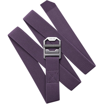 Arcade Guide Slim Belt in Wine