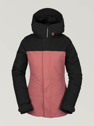 2020 Volcom Womens Bolt Jacket in Mauve