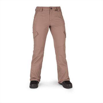 2022 Volcom Womens Bridger Insulated Pant in Coffee