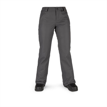 2022 Volcom Womens Frochickie Insulated Pant in Dark Grey