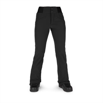 2022 Volcom Womens Battle Stretch Hr Pant in Black