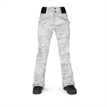 2022 Volcom Womens Battle Stretch Hr Pant in White Tiger