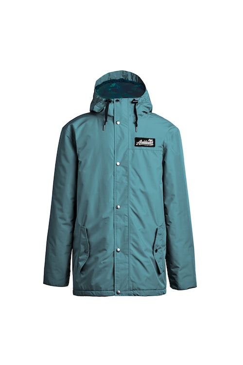 2021 Airblaster Heritage Parka in Atlantic