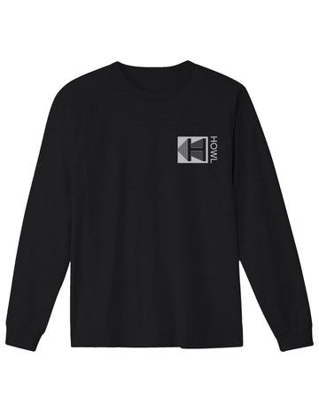 2021 Howl Logo Long Sleeve Tee in Black
