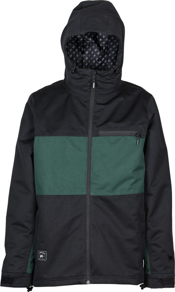 2021 L1 Hasting Snow  Jacket in Black and Emerald