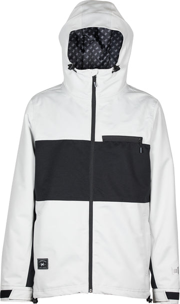 2021 L1 Hasting Snow  Jacket in Ghost and Black
