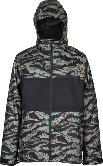 2021 L1 Hasting Snow  Jacket in Tiger Camo and Black