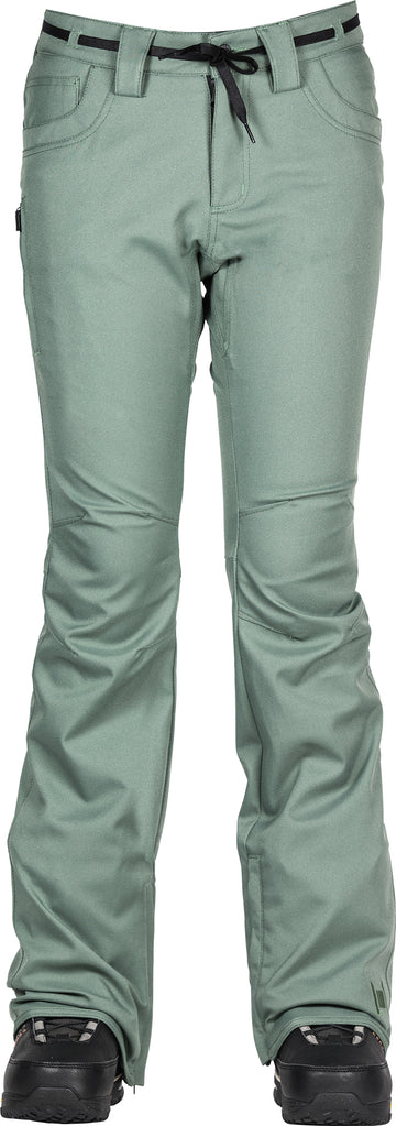 2021 L1 Heartbreaker Twill Womens Snow Pant in Fatigue