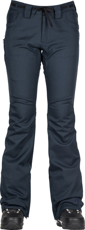 2021 L1 Heartbreaker Twill Womens Snow Pant in Ink