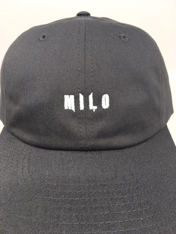 Milo Dad Small Hit Hat in Black