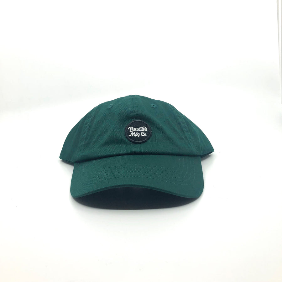 Brixton Wheeler Cap in Emerald