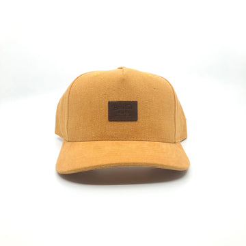 Brixton Grade III Snapback in Maize