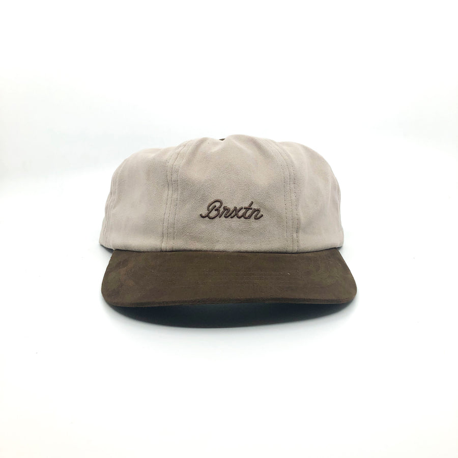 Brixton Sprint LP Cap in Vanilla and Bison