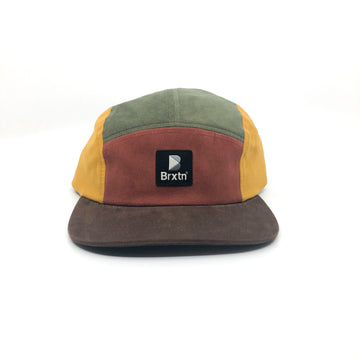 Brixton Stowell 5 Panel Cap in Multi Color