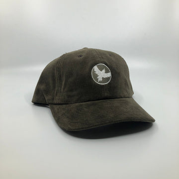 Milo Dad Hat in Dark Green Corduroy