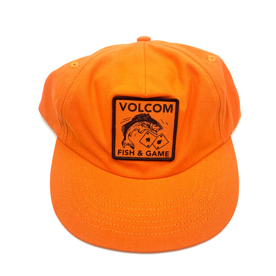 Volcom Fish and Gaming Hat in Tigerlily