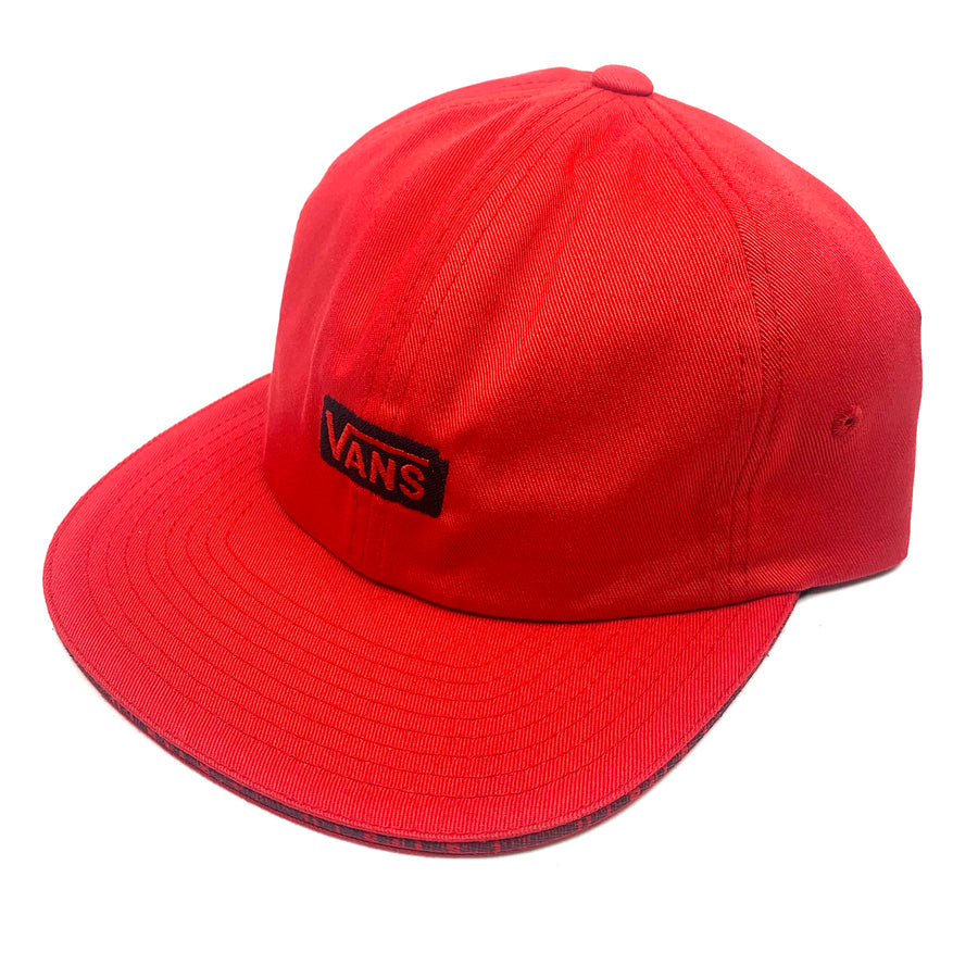 Vans X Baker Jockey Hat in Red