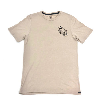 Volcom Skele World T shirt in Oatmeal