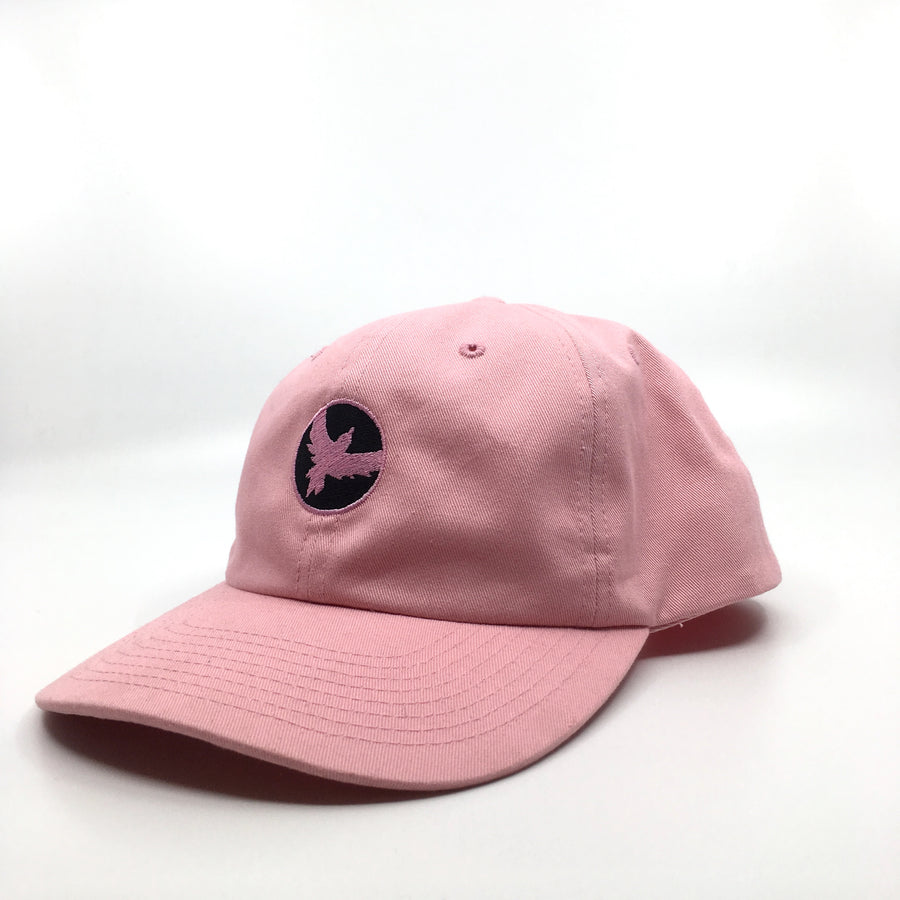Milo Dad Bird Hat in Light Pink