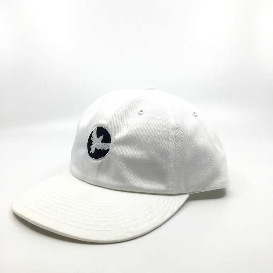 Milo Dad Bird Hat in White