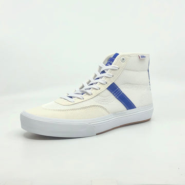 Vans Crockett High Pro Quasi in True White and Surf the Web