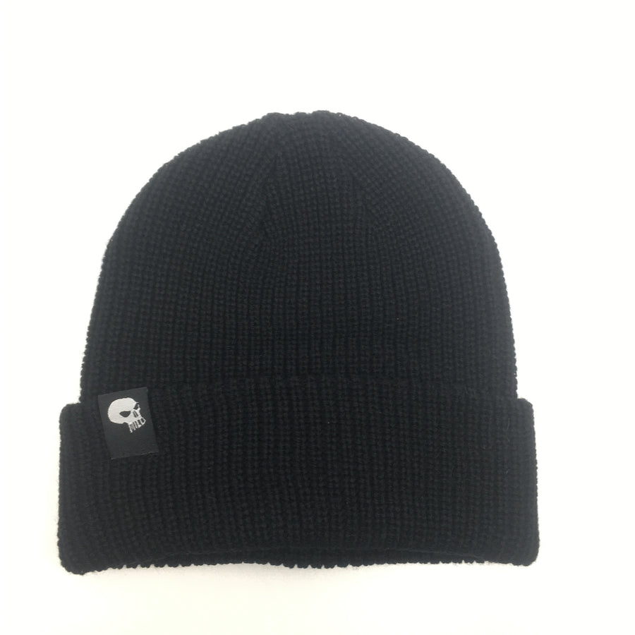 Milosport Skull & Bird Beanie in Black
