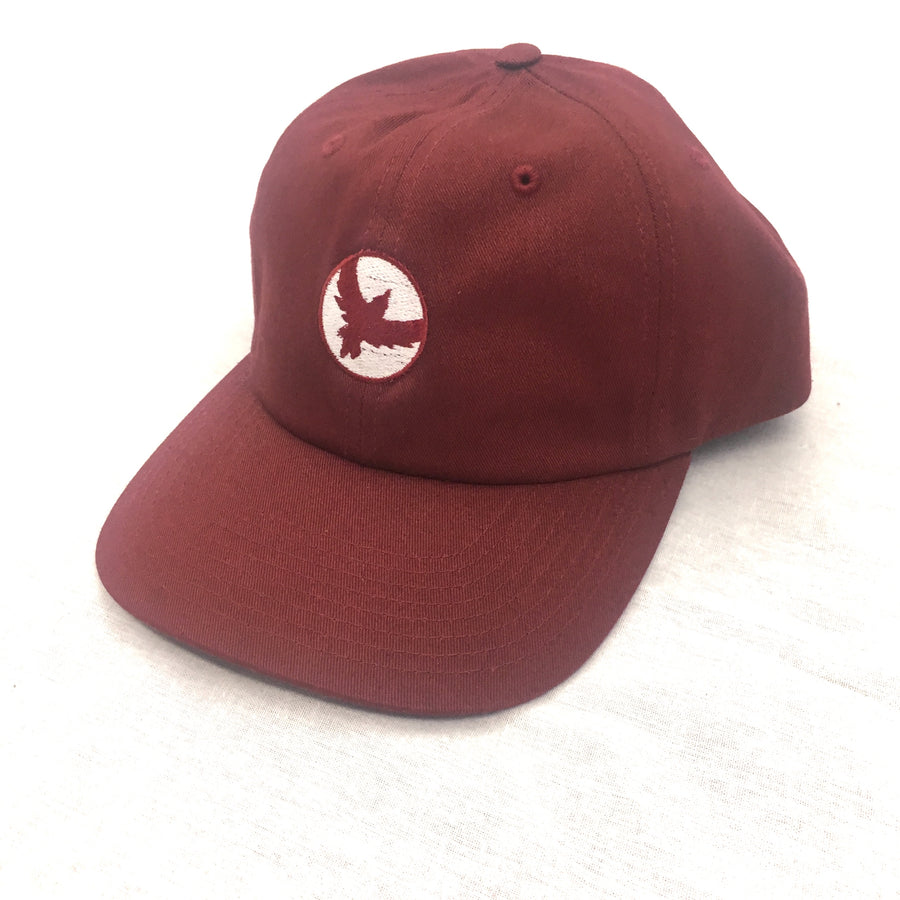 Milo Dad Bird Hat in Maroon