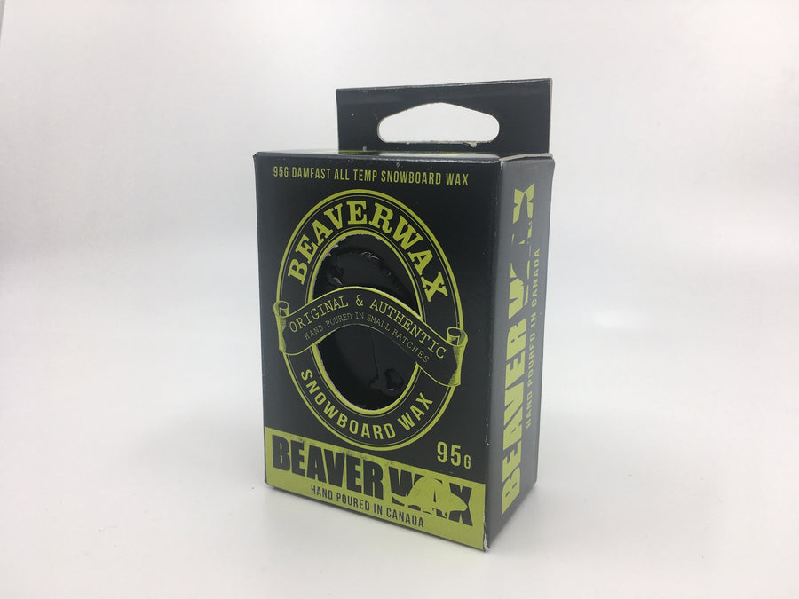 2020 Beaver Wax Damn Fast Snow Wax in 95 gram package
