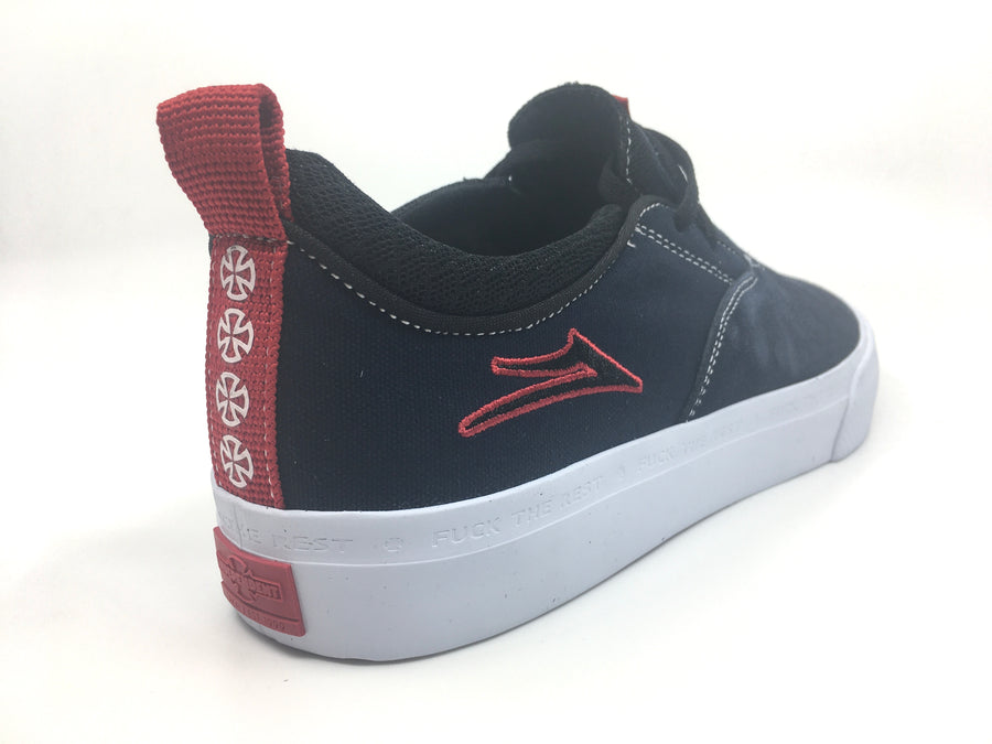 Lakai Riley 2 Indy Skate Shoe in Navy Suede