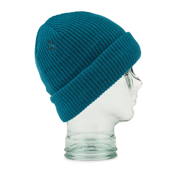 2022 Volcom Womens Polar Lined Beanie in Glacier Blue