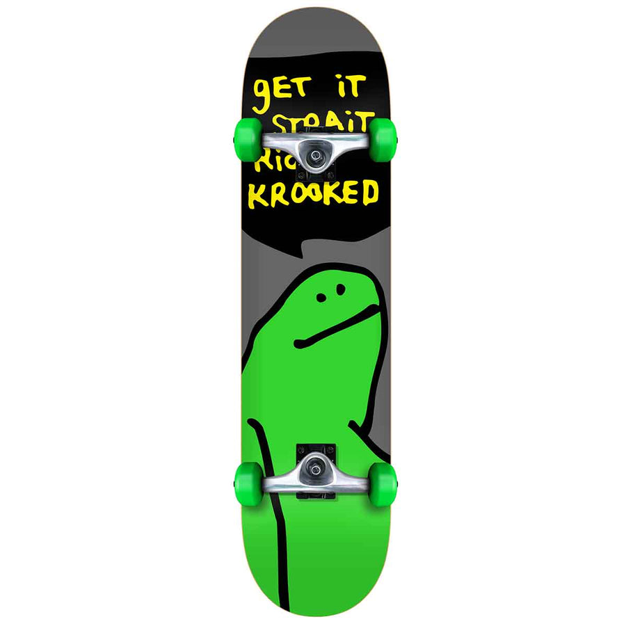 Krooked Team Shmoo Complete Skateboard in 7.3