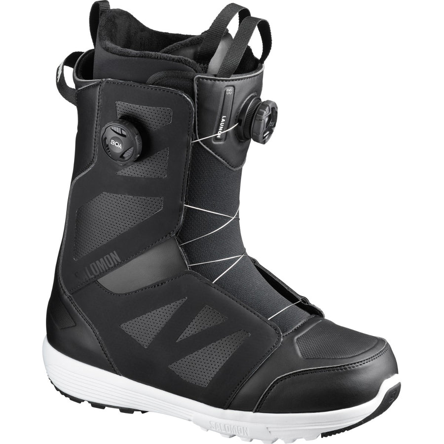 2021 Salomon Launch Boa Sj Boa Snowboard Boot in Black