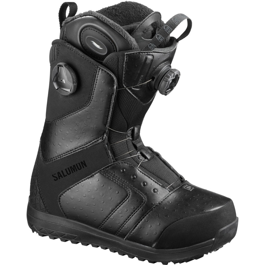 2020 Salomon Kiana Toast Focus Boa Womens Snowboard Boot in Black