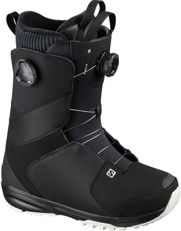 2021 Salomon Kiana Dual Boa Womens Snowboard Boot in Black