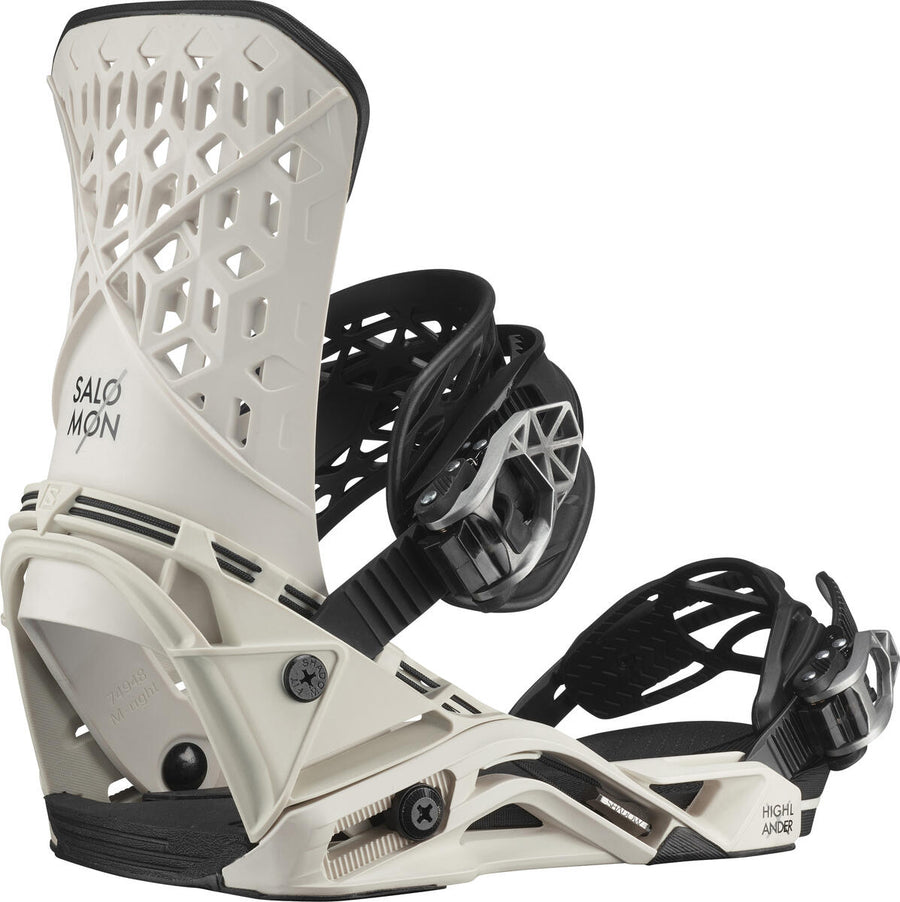 2021 Salomon Highlander Mens Snowboard Bindings in Sand