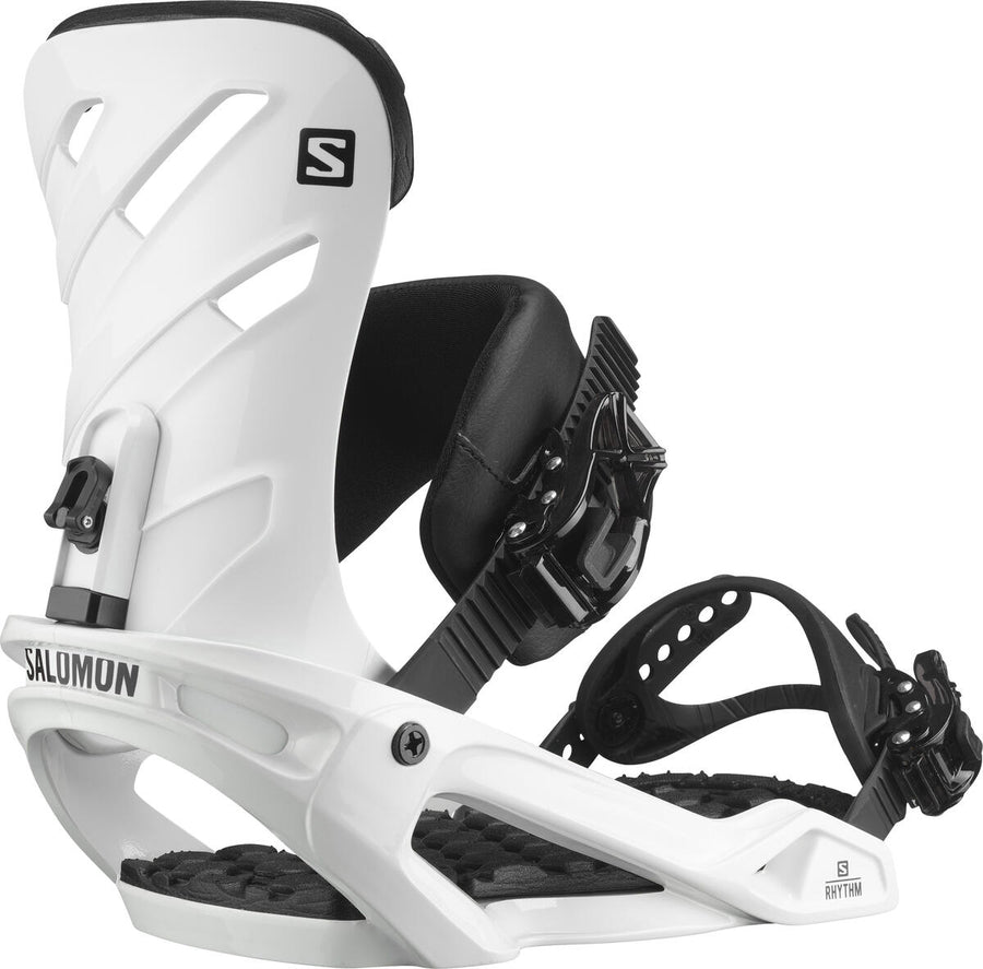 2021 Salomon Rhythm Mens Snowboard Bindings in White